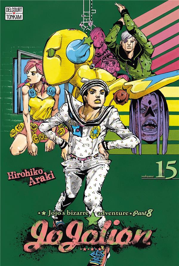 Couverture de Jojo's Bizarre Adventure - Jojolion -15- Tome 15