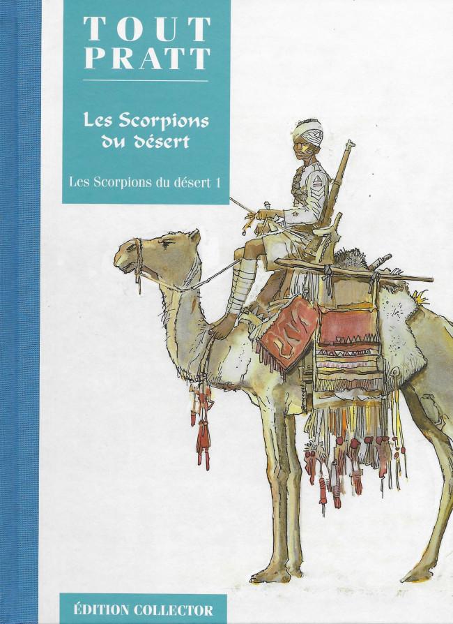 Couverture de Tout Pratt (collection Altaya) -23- Les scorpions du désert 1