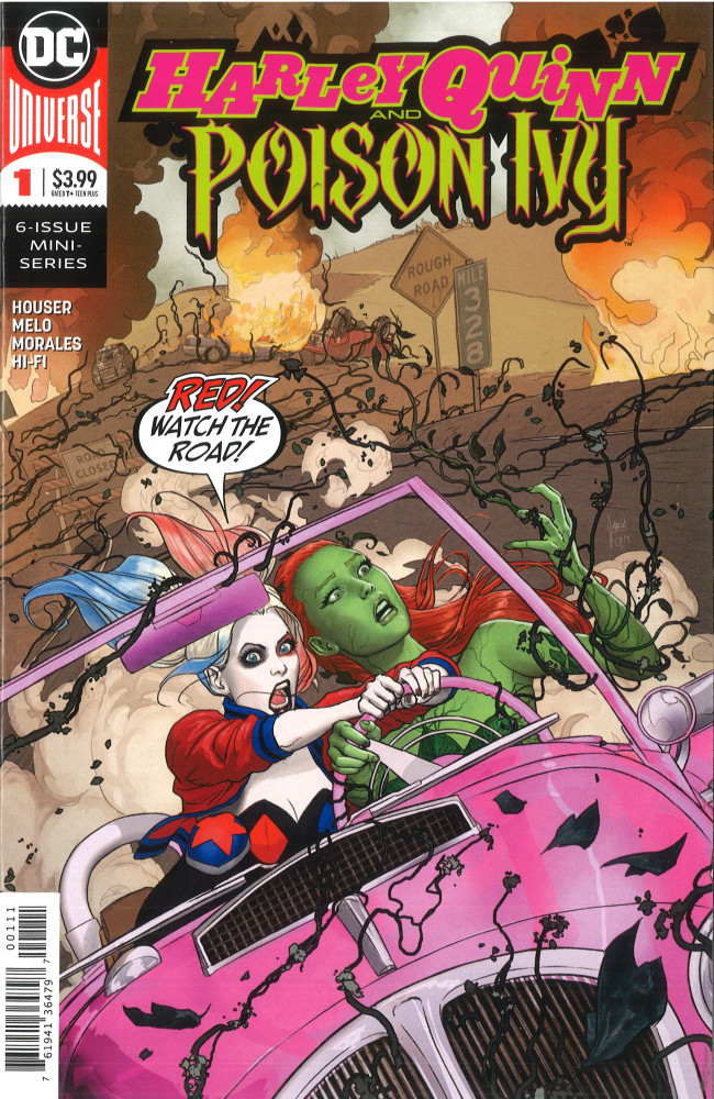 Couverture de Harley Quinn and Poison Ivy (2019) -1- Pushing Daisies