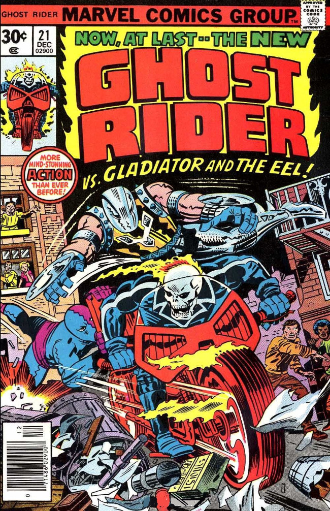 Couverture de Ghost Rider Vol.2 (Marvel comics - 1973) -21- Deathplay!