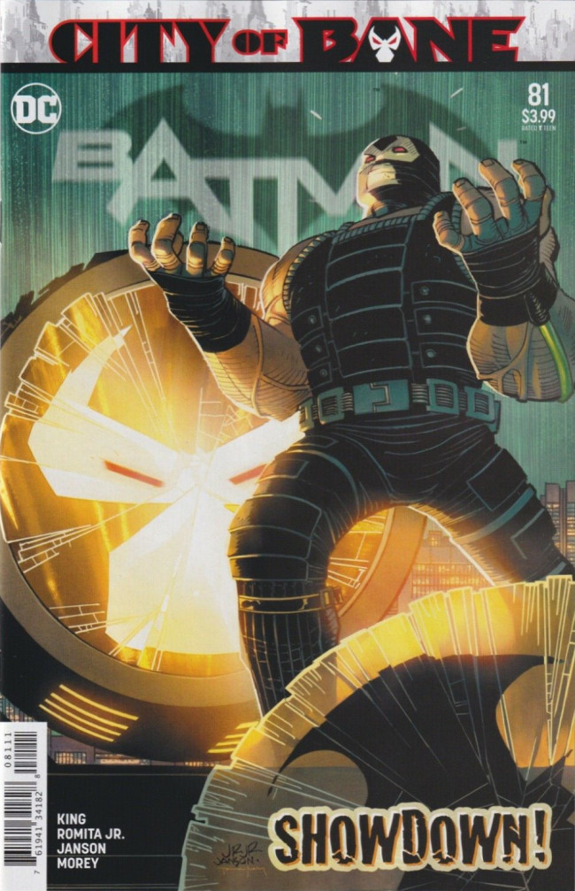 Couverture de Batman (DC Comics - 2016) -81- City of Bane, Part Seven