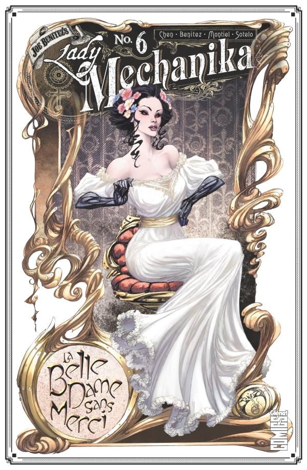 Couverture de Lady Mechanika -6- La Belle dame sans merci
