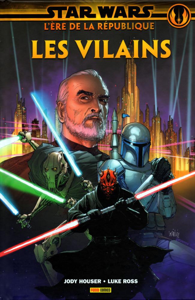 Couverture de Star Wars - L'ère de la République -2- Les Vilains