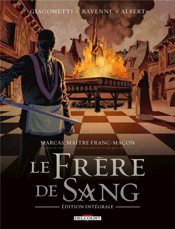 Couverture de Marcas, maître franc-maçon -INT2- Le frère de sang