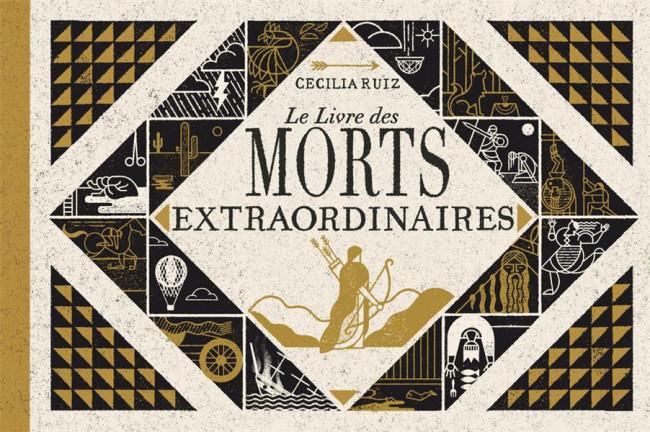 Couverture de (AUT) Ruiz, Cécilia - Le livre des morts extraordinaires