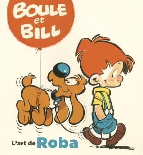 Couverture de (AUT) Roba - Boule et Bill - L'art de Roba