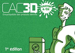 Couverture de (DOC) CAC3D -16- CAC3D - Gaston & Cie - 1re édition