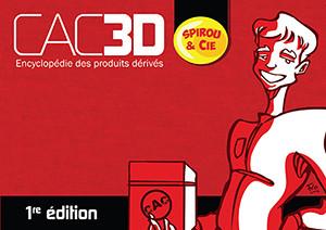 Couverture de (DOC) CAC3D -20- CAC3D - Spirou & Cie - 1re édition