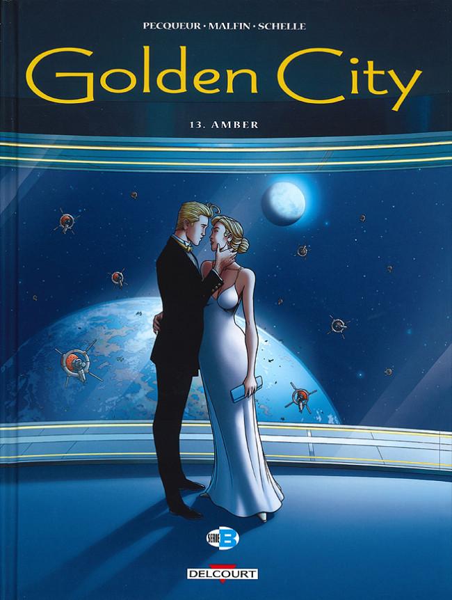 Couverture de Golden City -13- Amber