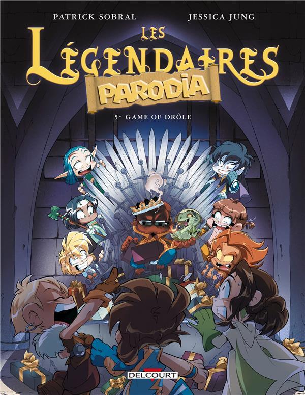 Couverture de Les légendaires - Parodia -5- Game of drôle