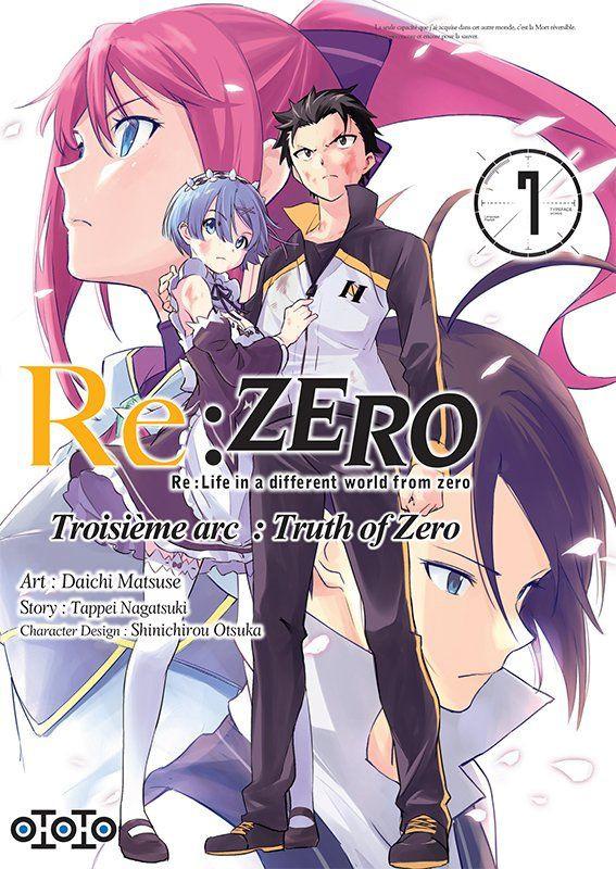 Couverture de Re:Zero (Re : Life in a different world from zero) -37- Troisième arc : Truth of Zero - 7