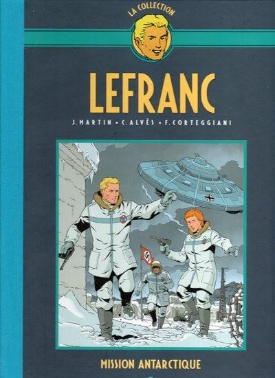 Couverture de Lefranc - La Collection (Hachette) -26- Mission antarctique