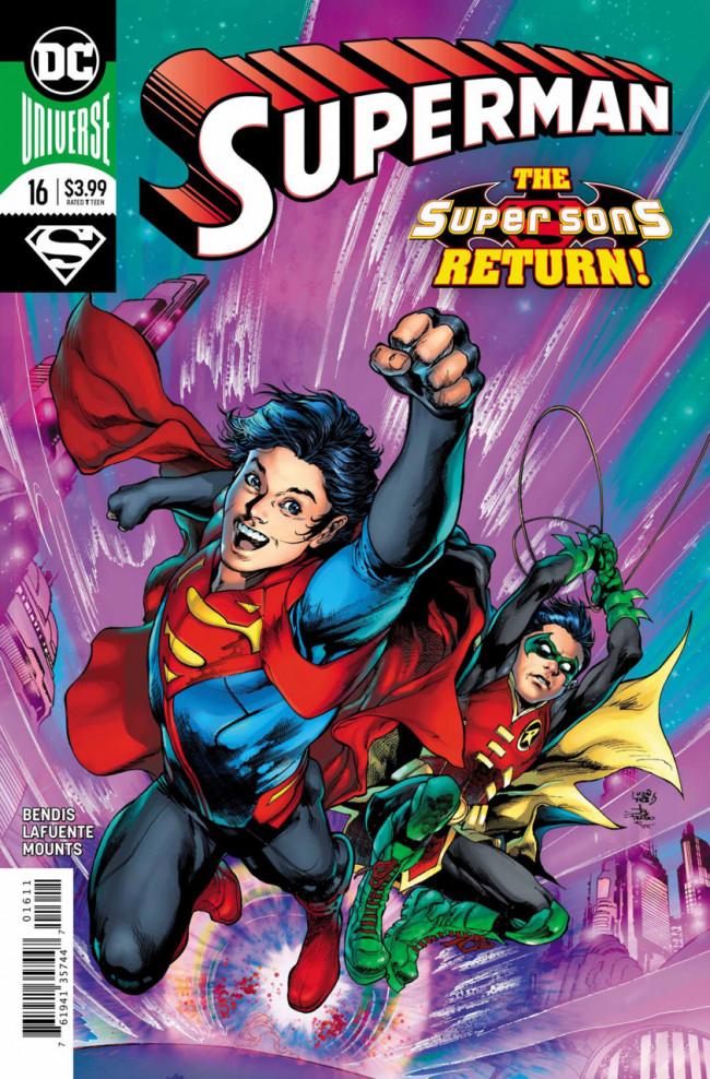 Couverture de Superman (2018) -16- Super Sons