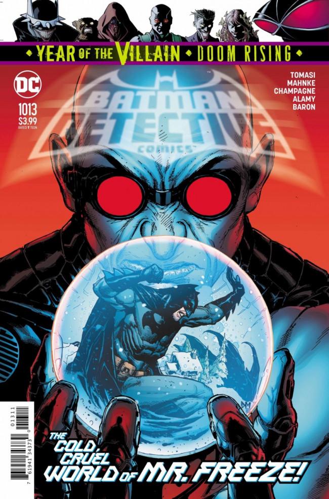 Couverture de Detective Comics (1937), période Rebirth (2016) -1013- Cold Dark World : Thawed !