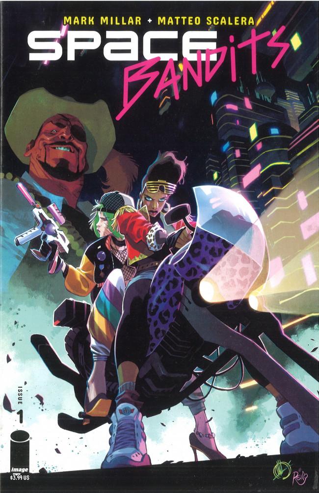 Couverture de Space Bandits (2019) -1- Issue 1