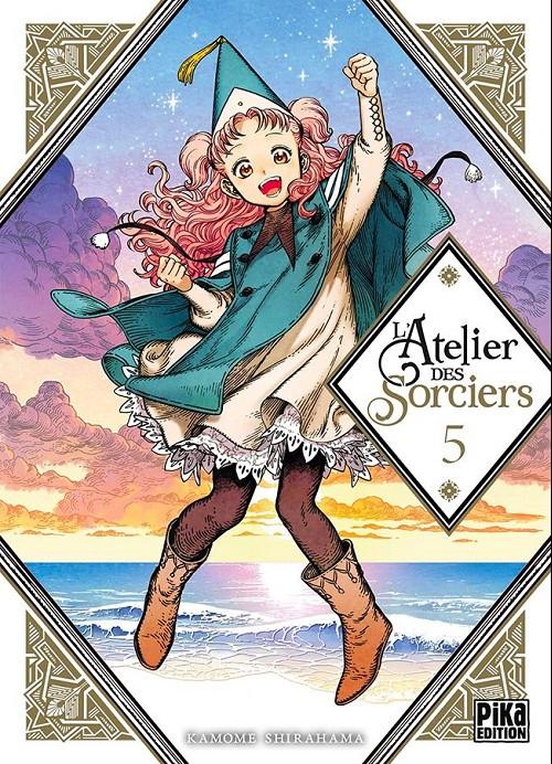 Couverture de L'atelier des sorciers -5- Volume 5