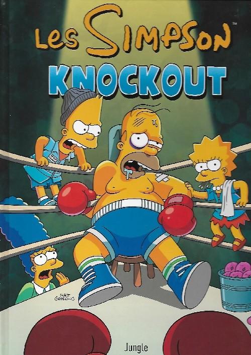 Couverture de Les simpson (Jungle !) -40- Knockout