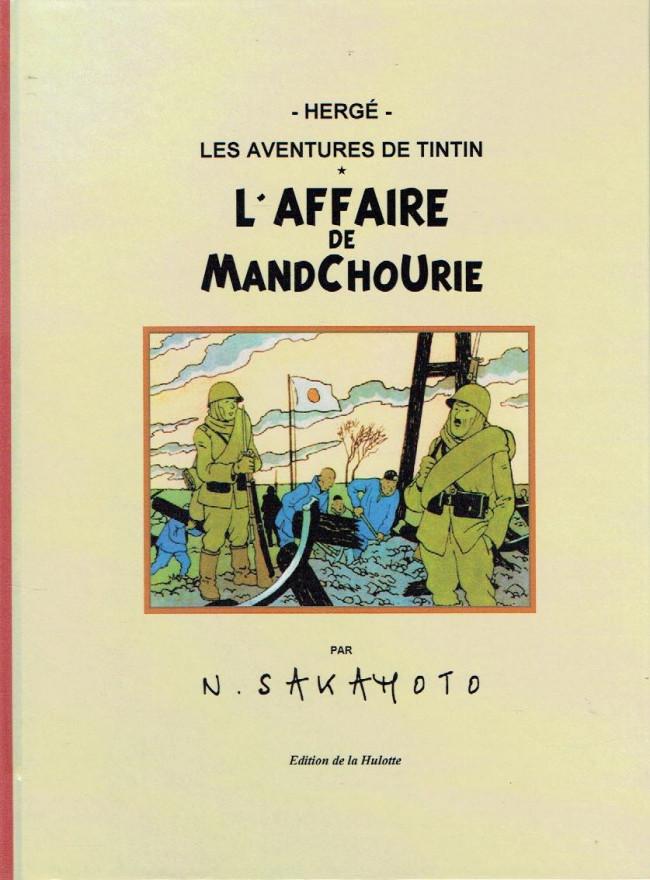 Couverture de (AUT) Hergé - L'affaire de la Mandchourie