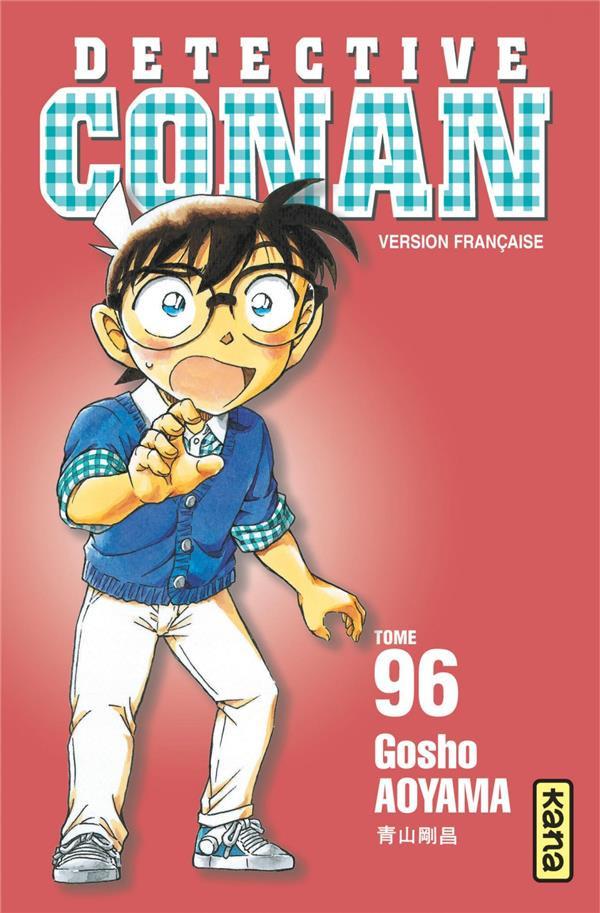 Couverture de Détective Conan -96- Tome 96