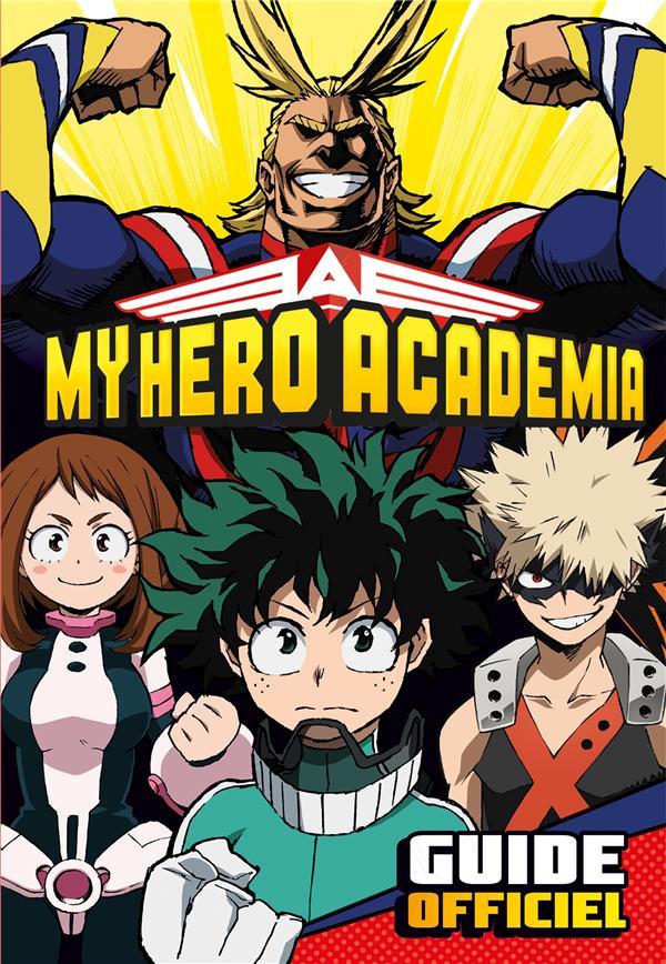 Couverture de My Hero Academia -HS2- Guide officiel