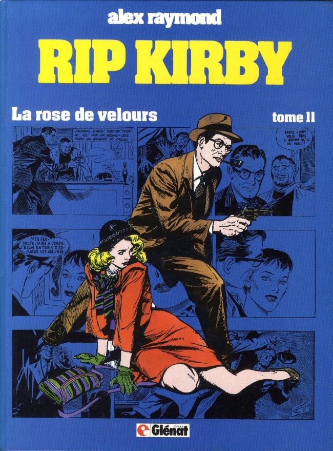 Couverture de Rip Kirby -11- La rose de velours