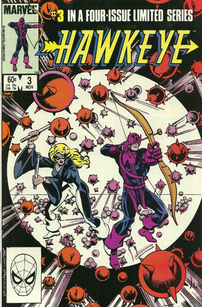 Couverture de Hawkeye (1983) -3- Beating the Odds