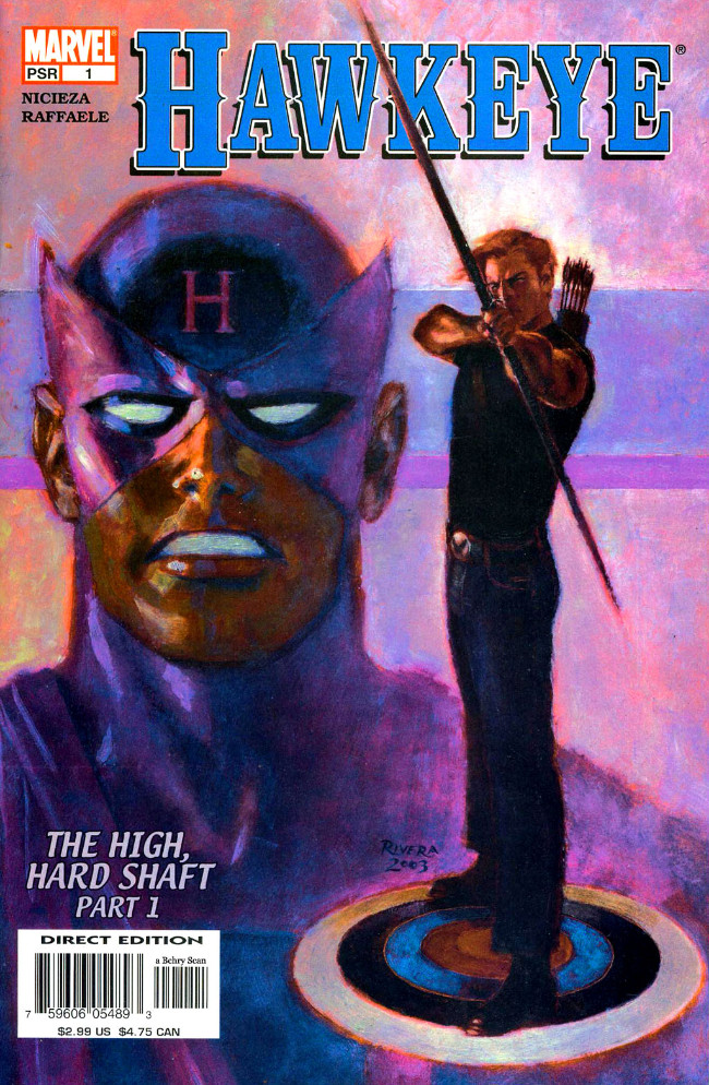 Couverture de Hawkeye (2003) -1- The High, Hard Shaft Part 1