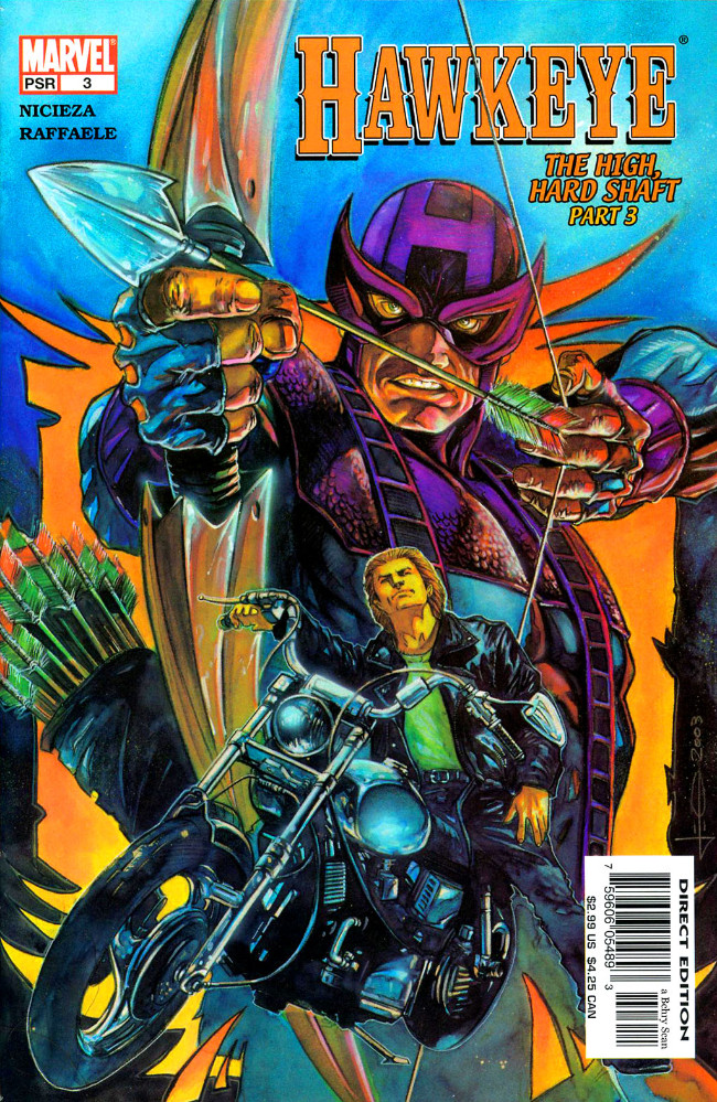 Couverture de Hawkeye (2003) -3- The High, Hard Shaft Part 3