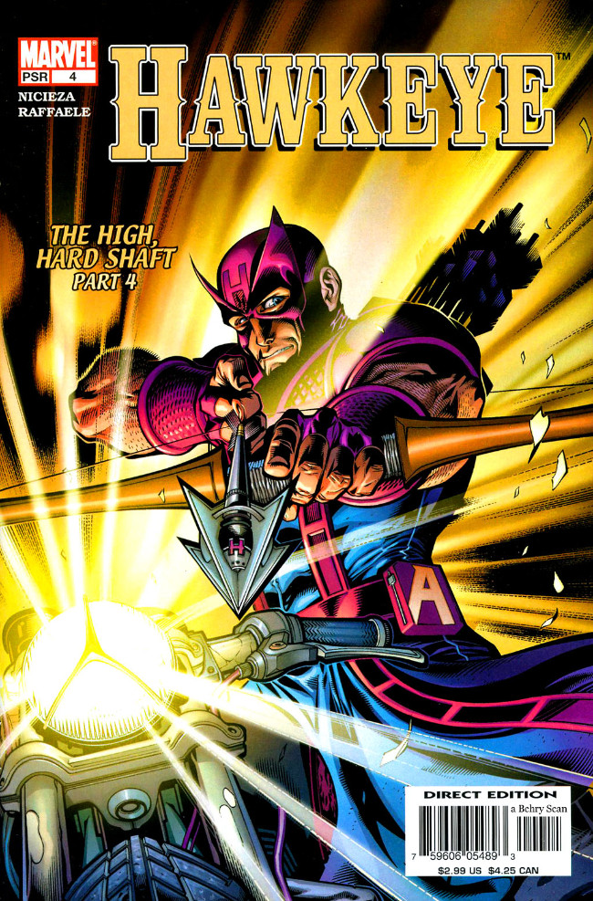 Couverture de Hawkeye (2003) -4- The High, Hard Shaft Part 4