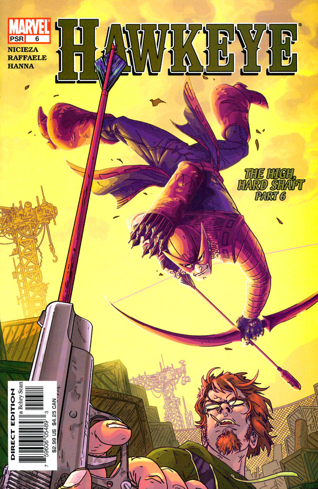 Couverture de Hawkeye (2003) -6- The High, Hard Shaft Part 6