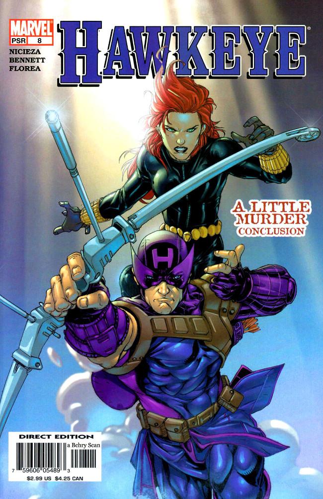 Couverture de Hawkeye (2003) -8- A Little Murder, Conclusion