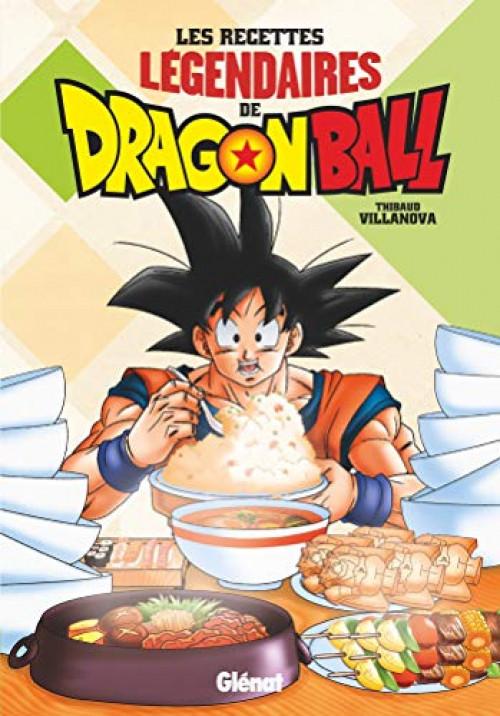 Couverture de Dragon Ball -HS3- Les recettes légendaires de Dragon Ball
