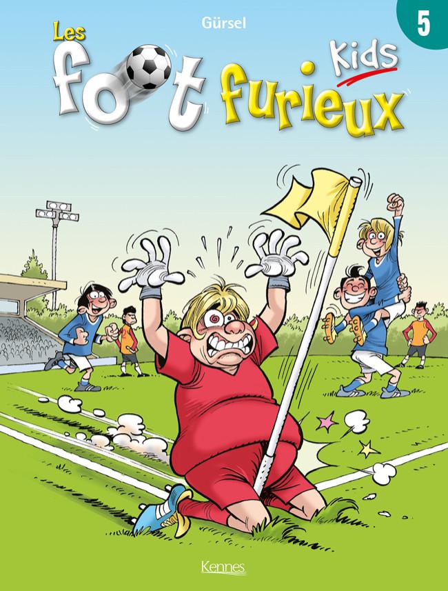 Couverture de Les foot Furieux Kids -5- Tome 5