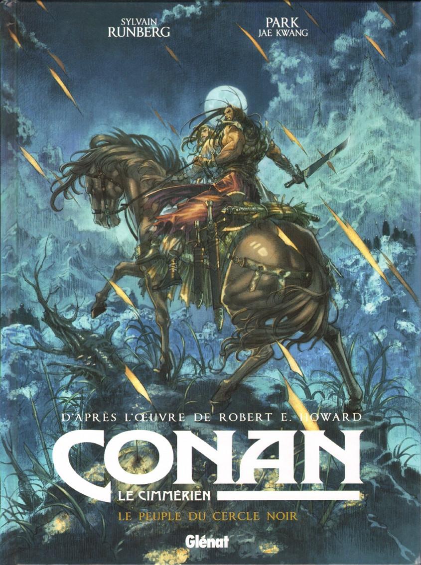 Couverture de Conan le Cimmérien -8- Le Peuple du cercle noir