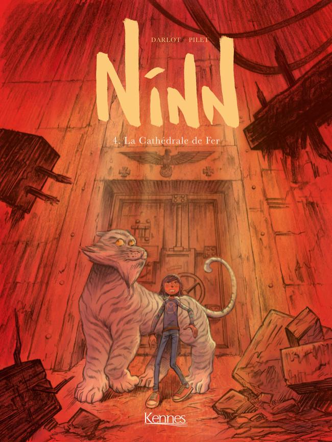 Couverture de Ninn -4- La Cathédrale de fer