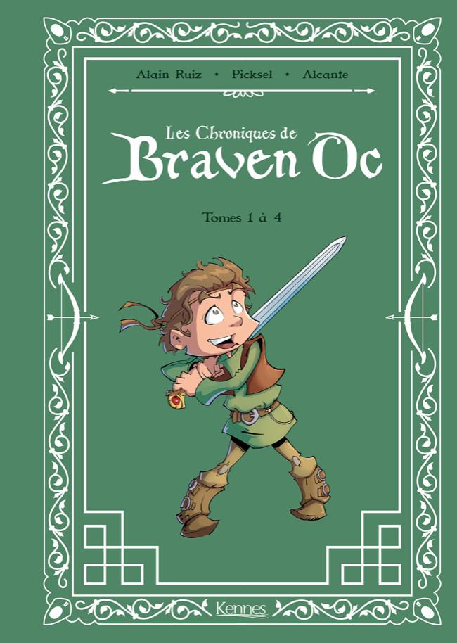 Couverture de Les chroniques de Braven Oc - Recueil - tomes 1 à 4