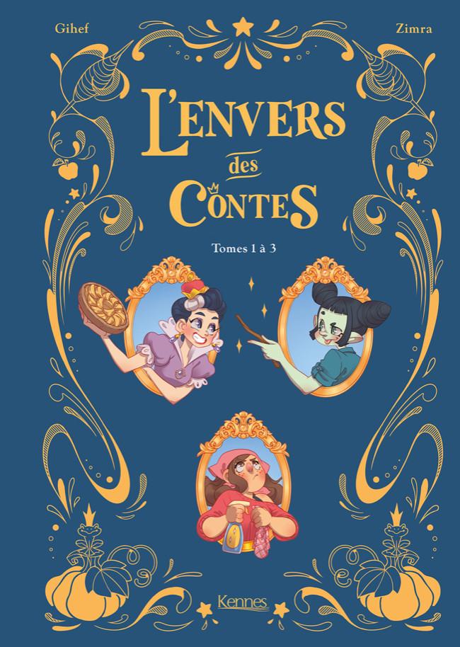 Couverture de L'envers des contes -INT- Tomes 1 à 3
