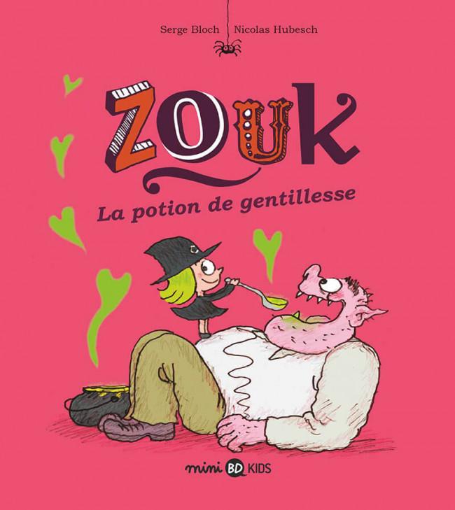 Couverture de Zouk -19- La potion de gentillesse