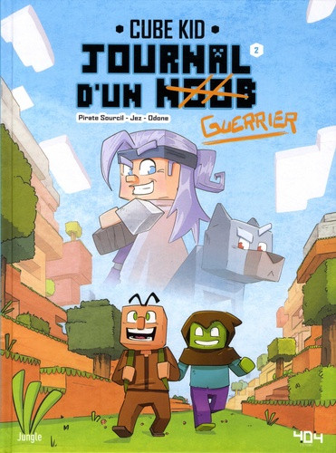 Couverture de Journal d'un noob -2- Balade dans le nether