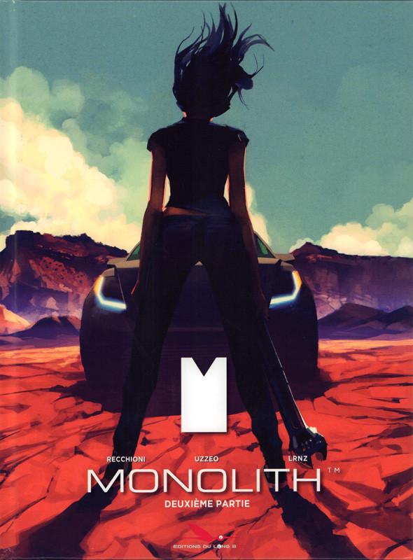Couverture de Monolith (Recchioni/Roberto) -2- Seconde partie
