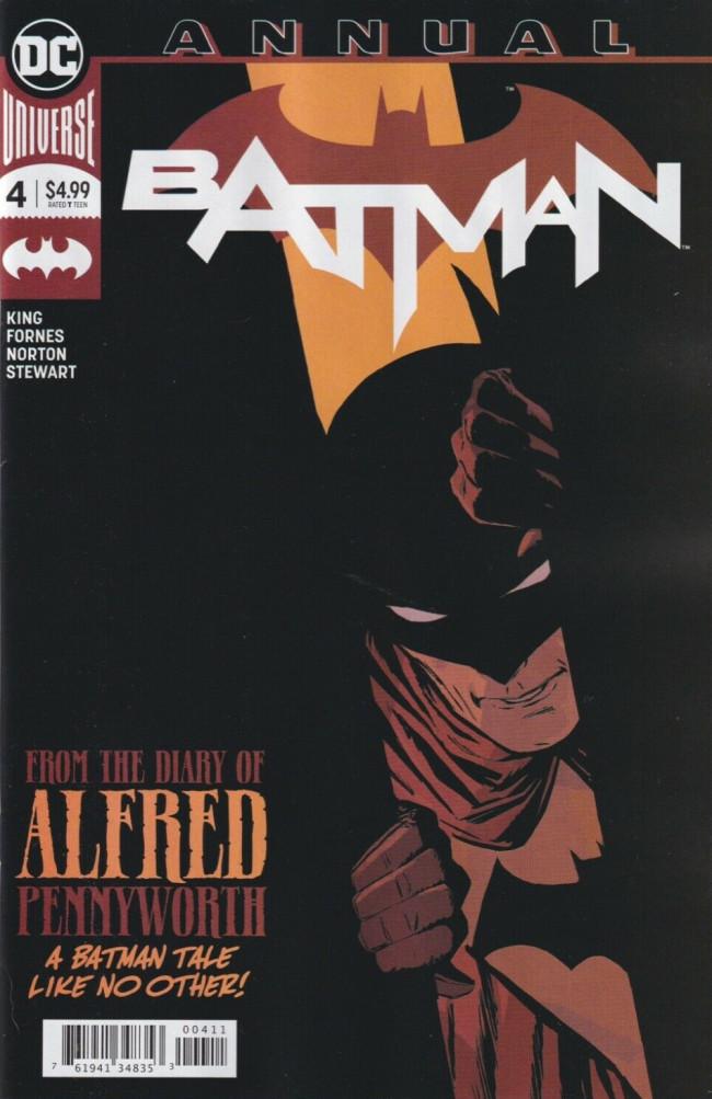 Couverture de Batman (DC Comics - 2016) -AN04- Everyday