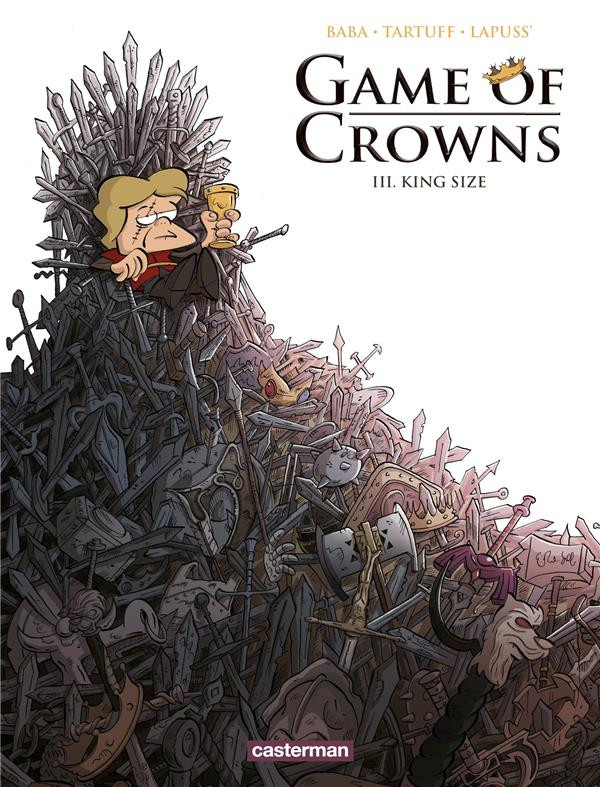 Couverture de Game of Crowns -3- King Size