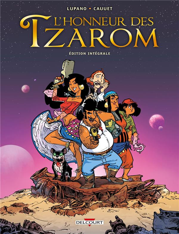 Couverture de L'honneur des Tzarom - Tome INT