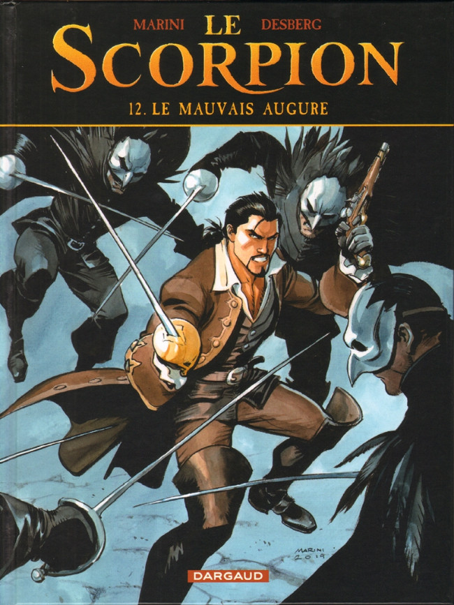 Couverture de Le scorpion -12- Le Mauvais Augure