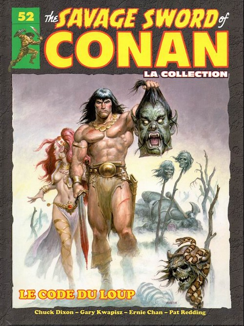 Couverture de Savage Sword of Conan (The) - La Collection (Hachette) -52- Le code du loup