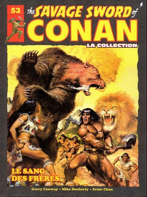 Couverture de Savage Sword of Conan (The) - La Collection (Hachette) -53- Le sang des frères