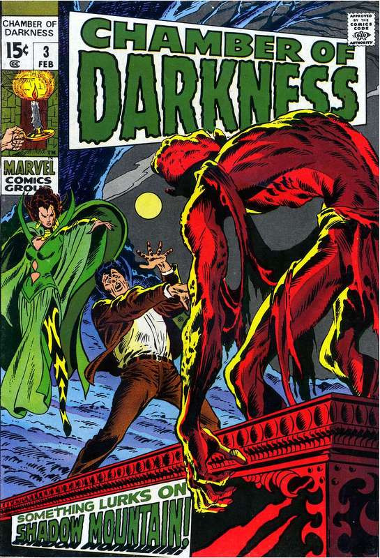 Couverture de Chamber of Darkness (Marvel - 1969) -3- Something Lurks on Shadow Mountain!