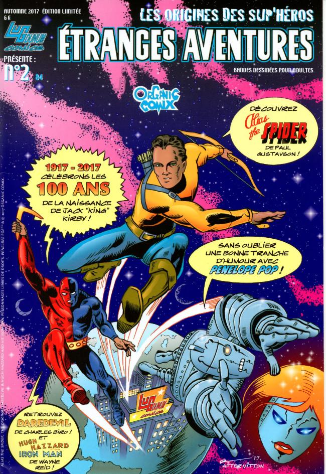 Couverture de Étranges aventures (3e Série - Organic Comix) -2- Numéro 2