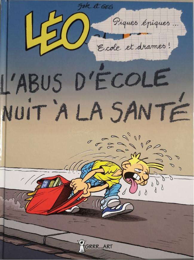 Couverture de Léo et Lu -9- Piques épiques, écoles et drames... cours et cour et ras les blâmes !