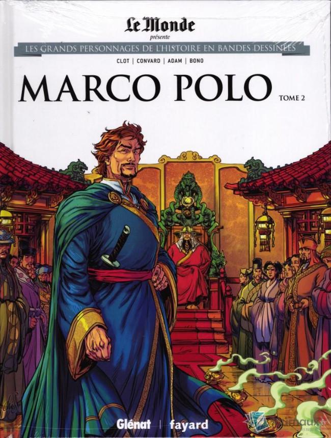 Couverture de Les grands Personnages de l'Histoire en bandes dessinées -22- Marco Polo - Tome 2